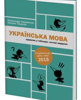 Українська мова. Правопис у таблицях, тестові завдання_0